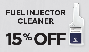 15% OFF – FUEL INJECTOR CLEANER